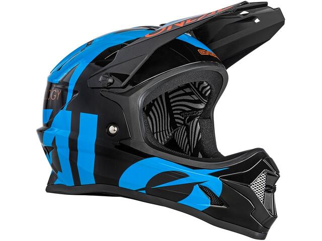 O'Neal Backflip Casco Slick, black/blue